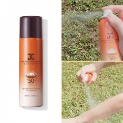 [Jayjun] Real Water Brightening Black Sun Spray (100ml)(SPF50+, PA++++)