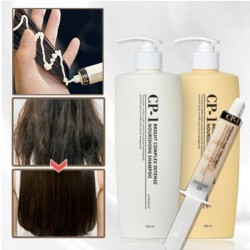 CP1蛋白絲滑洗頭水&護髮素 SET + 專業蛋白急救護髮針 <UPGRADE VER>
