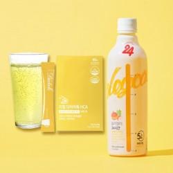 【限時優惠】  [SleyCally] 24Hours Cleans Juice + Real Diet Tok Lemon (HCA)(一盒15包)