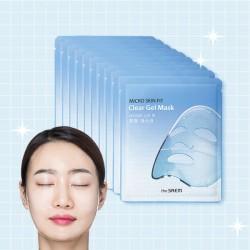 【團購價38蚊】[The Saem] 透明質酸水凝膠面膜 (10片裝)(BLUE)