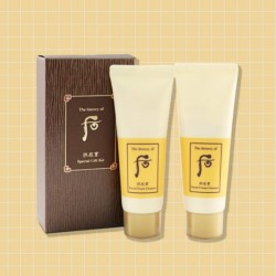 [Whoo] Gongjinyang Cream Cleanser 40ml + Foam Cleanser 40ml