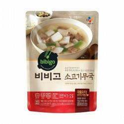 [bibigo] Beef and Radish Soup 500g (소고기무국)