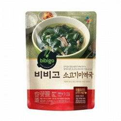 [bibigo] Beef and Seaweed Soup 500g (소고기 미역국)