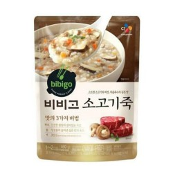 [bibigo] 牛肉粥 450g (소고기죽)