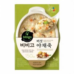 [bibigo]-蘑菇蔬菜粥 280G (버섯야채죽)