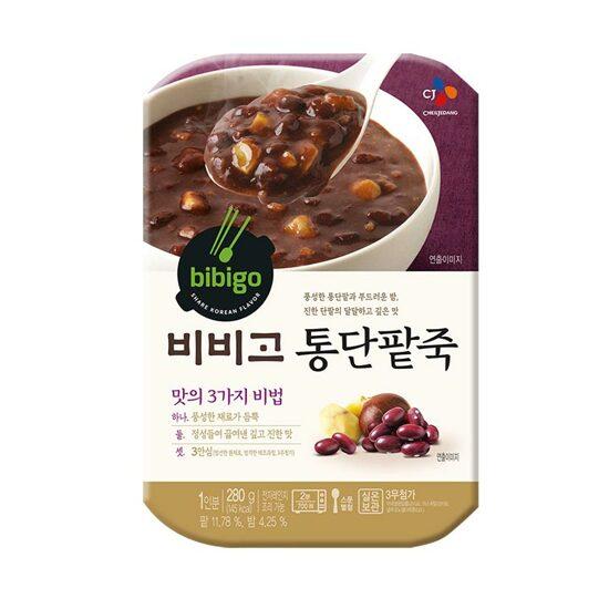 [bibigo]  紅豆即食粥 280g (통단팥죽)