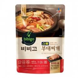 [bibigo] Spam Sausage Stew 460g (스팸 부대찌게)