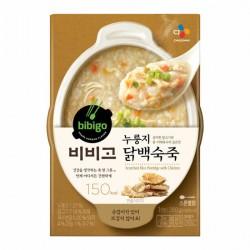 [bibigo] Sconched Rice Porridge with Chicken 280g (누룽지 닭백숙죽)