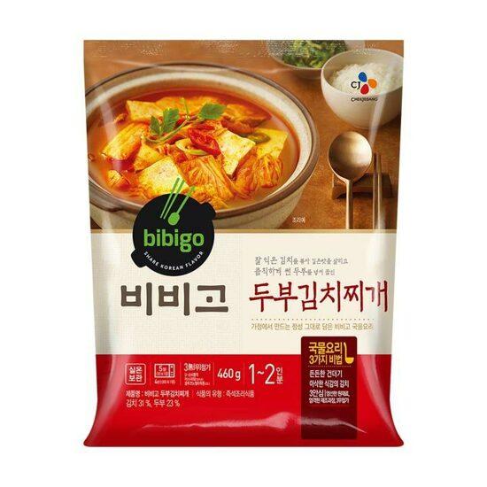 [bibigo] 豆腐泡菜燉湯 460g (두부김치찌개)