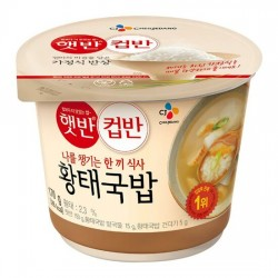 CJ 黃大魚湯飯 컵반 황태국밥