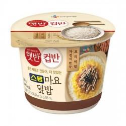 (預購 25/06)CJ 午餐肉蛋黃醬蓋飯 컵반 스팸마요덮밥
