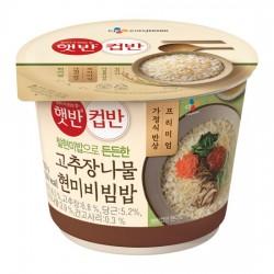 CJ 辣椒醬蔬菜拌飯 컵반 고추장나물비빔밥