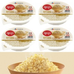 (預購 25/06)[CJ] 即食玄米飯 (210G X 4) (현미쌀밥)
