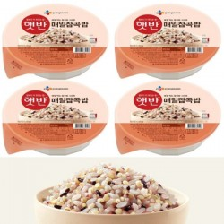 (預購 25/06)[CJ] 即食雜穀飯 (210G X 4) (매일잡곡밥)