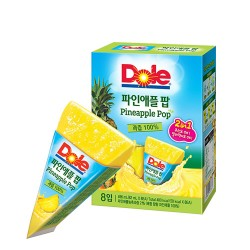 [Dole] Fruit Pop (Pineapple) 62ml *8pcs