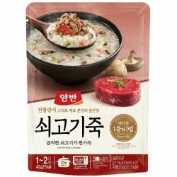 [東遠] 兩班 包裝 牛肉粥420G (양반쇠고기죽)