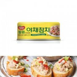 [東遠] 野菜吞拿魚 100g (야채참치)