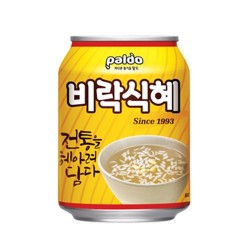 [八道] 韓國傳統甜米露 238ml 비락식혜 238ml