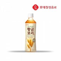 [樂天] 黃金大麥茶 500ml (황금보리)