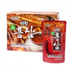 [八道] 韓國傳統紅參汁 140ml X 10 (팔도비락진홍삼)