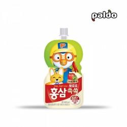 (預購 25/06)[八道] 波露露兒童紅參汁 蘋果梅味 100ml (뽀로로홍삼쏙쏙사과매실)