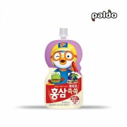 (預購 25/06)[八道] 波露露兒童紅參汁 提子藍莓味 100ml (뽀로로홍삼쏙쏙포도블루베리)