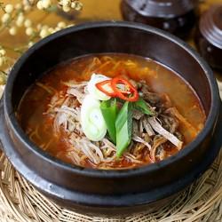 韓式辣牛肉湯 (육계장) 600g (冷凍食品)