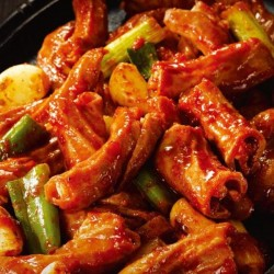 韓式火辣烤豬小腸 (불곱창) 120g  (冷凍食品)