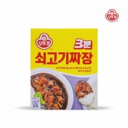 [不倒翁] 3分鐘即食牛肉炸醬 200g (3분쇠고기짜장)