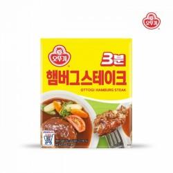 [不倒翁] 3分鐘即食韓式漢堡扒 140g (3분햄버그스테이크)