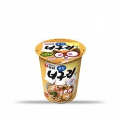 [農心] 浣熊原味拉麵 杯裝 63G 농심 순한너구리 컵