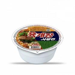 [農心] 辣牛肉湯麵 杯裝 86G 농심 육개장 사발면