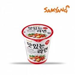 [三養] 香辣蔬菜拉麵杯麵 65g (맛있는라면)
