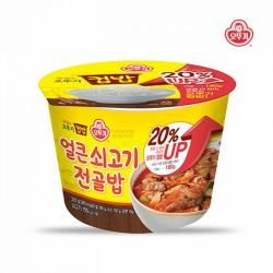 [不倒翁] 杯飯 - 辣牛肉火鍋飯 320g (컵밥얼큰쇠고기전골밥)