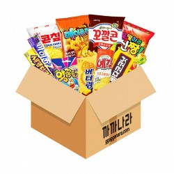 SGTS 零食福袋 (隨機11款韓國零食)