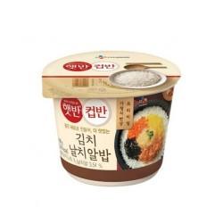 CJ 泡菜飛魚籽飯 컵반 김치 날치알밥
