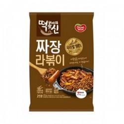 [Dongwon] 韓國炒炸醬年糕 (附拉麵) 떡볶이의신 짜장라볶이 372G
