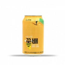 樂天 蜂蜜梨汁 롯데 칠성 사각사각 꿀배 340ml