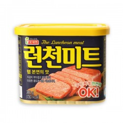 [lotte] 樂天 햄 런천미트 THE LUNCHEON MEAT 韓國特級午餐肉 340G