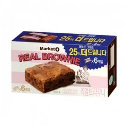 [Market O] Real Brownie 布朗尼朱古力蛋糕 120g (20g x 6件裝)