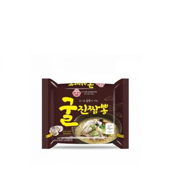 不倒翁 真蠔海鮮風味拉麵 오뚜기 굴 진짱뽕 130g