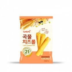 三養 芝士穀物棒 삼양 곡물 치즈롤 80g