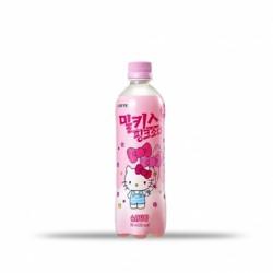 樂天 Milkis粉紅梳打(Hello Kitty特別版) 롯데칠성 밀키스 핑크소다 500ml
