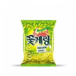 BINGGRAE Wasabi味蟹仔脆片 빙그레 꽃게랑 와사비 70g