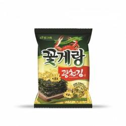 BINGGRAE 紫菜味蟹仔脆片 빙그레 꽃게랑 광천김70g