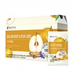 BOTO 桔梗梨汁禮盒 도라지배즙 (80ML*30包)/盒