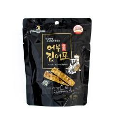 TEAM KOREA 어부김어포 辣味魚脯海苔脆餅 20G