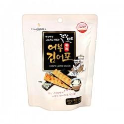 TEAM KOREA 어부김어포 香脆薄酥沙律醬魚脯海苔脆餅 20G