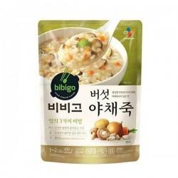 [bibigo]-instant mushroom vegetable vorridge 450g (버섯야채죽)