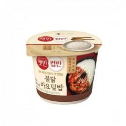 CJ 香辣雞肉飯 컵반 불닭덮밥